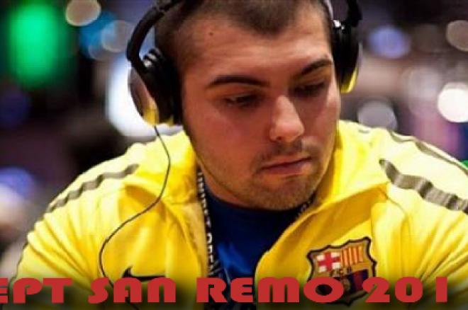 Симо Найденов и Наско Георгиев в Ден 2 на EPT San Remo 0001