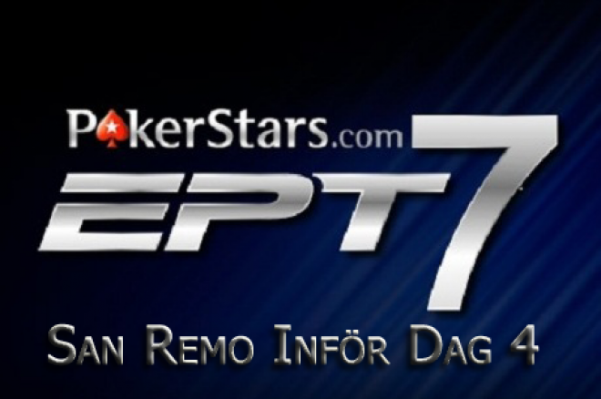 PokerStars EPT San Remo dag 4