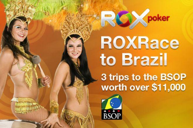 Rox Trka za Brazil: Rejkujte $1 za Kvalifikacije na BSOP Freeroll 0001