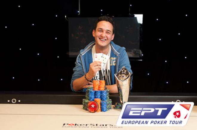 EPT San Remo - Rupert wint, Heinzelmann andermaal tweede