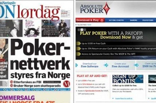 Hevder Absolute Poker driver fra Norge 0001