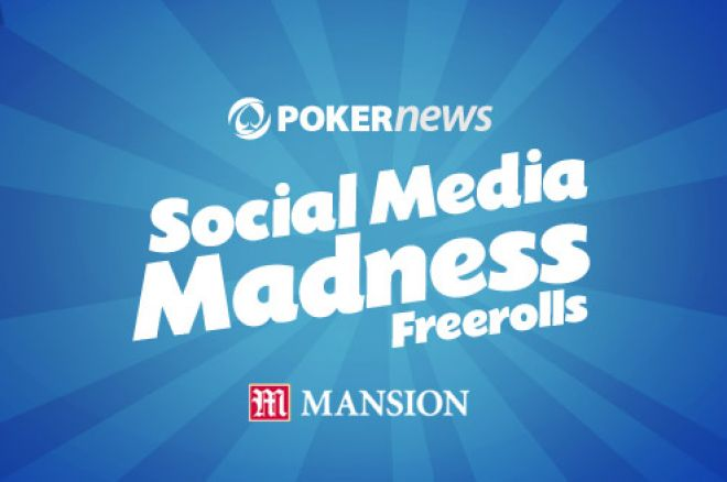 Don't Forget Tonight's $400 Freeroll on Mansion Poker 0001