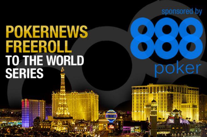 Безкоштовні турніри PokerNews та 888 Poker на WSOP 0001