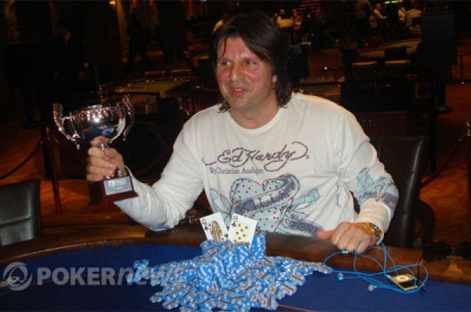 Slobodan Ružičić je Danube Poker Masters Šampion 0001