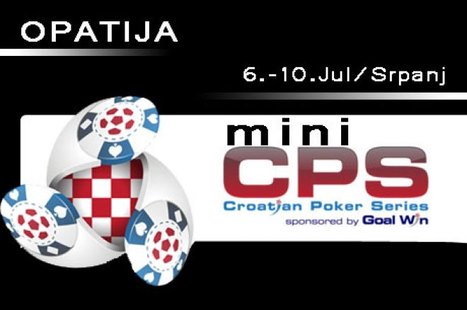 U OPATIJI od 8-10 Jula/Srpnja Mini Croatian Poker Series 0001