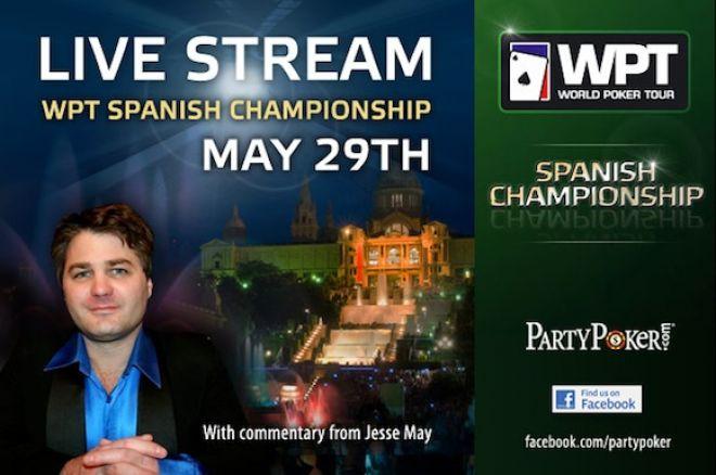 WPT Spanish Championship finalbord live stream