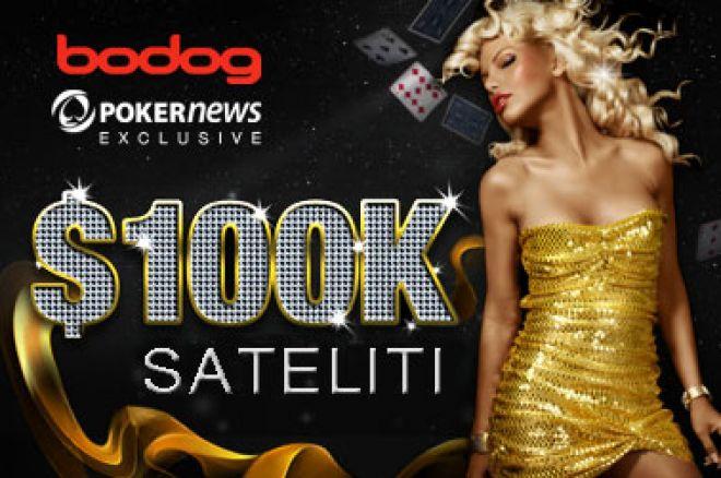 Bodog $100,000 Guaranteed Freeroll Satelit Startuje Večeras 0001