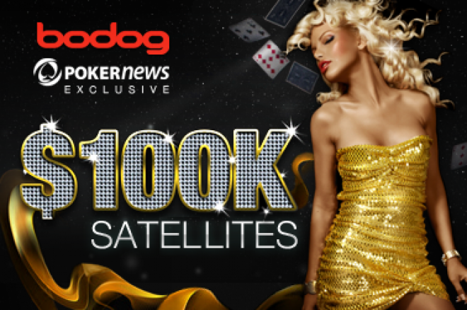 Bodog $100.000 garantert satellitt natt til søndag 0001