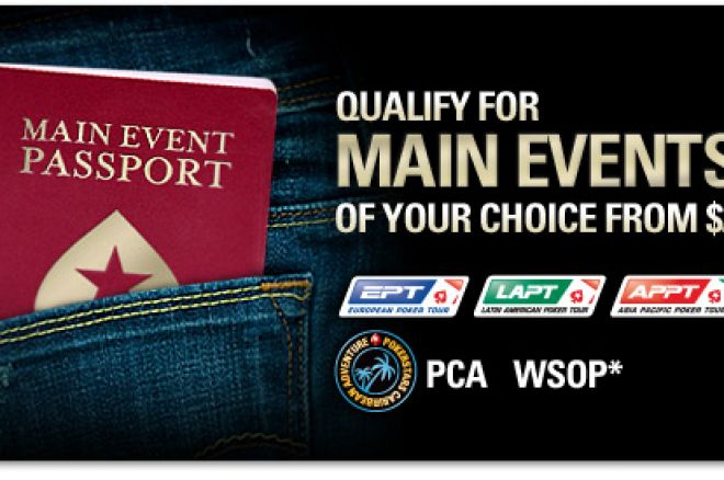 扑克之星主赛事护照 0001