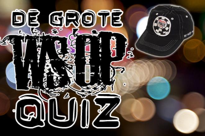 WSOP Quiz - Win een WSOP goodie bag!
