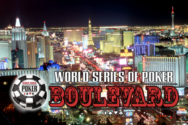 "WSOP Boulevard: Jon ""PearlJammer"" Turner mist bracelet"