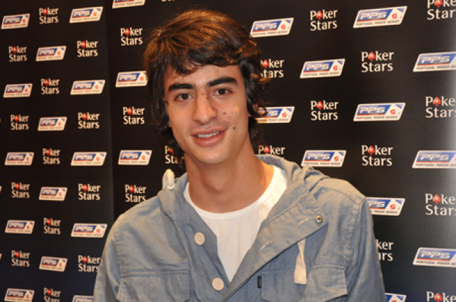 João Costa é o super chipleader do Dia 1A do Portugal Poker Series 0001