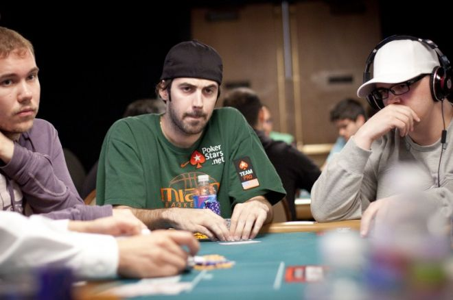 Jason Mercier и Sorel Mizzi в борбата за гривна на $10K Stud... 0001