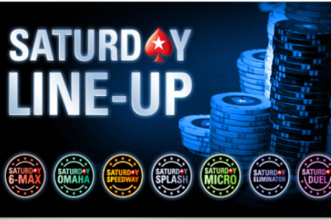 PokerStars Saturday Line-Up - Nowe turnieje PokerStars 0001