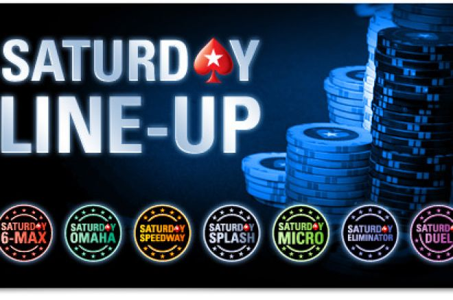 Съботни PokerStars турнири