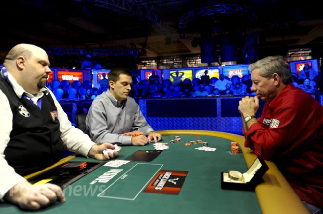 Chris Viox och Mike Sexton WSOP 2011 Event 25