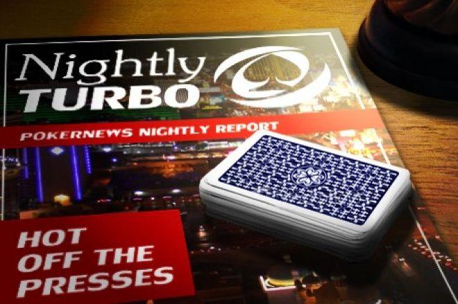 Ikdienas turbo apskats: Bloms laimē $150,000, gudrais pokera galds, u.c. 0001