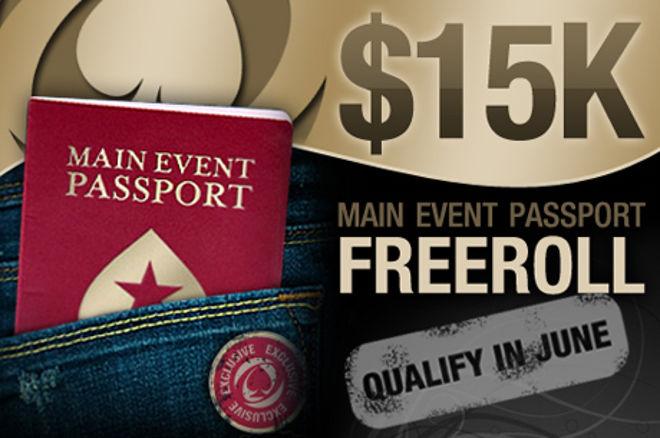 Siste mulighet til å spille Main Event Passport Freeroll 0001