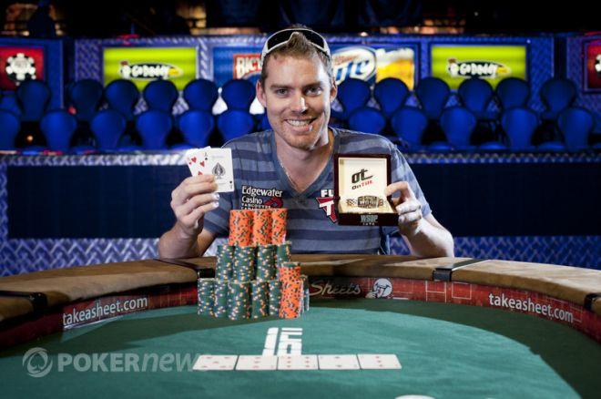 Matt Jarvis WSOP 2011 Event #40 vinnare