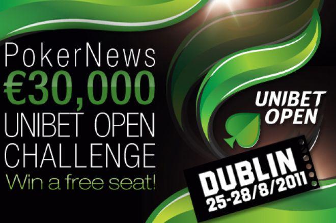 Сьогодні передостанній 1000€ Unibet Open фріролл 0001