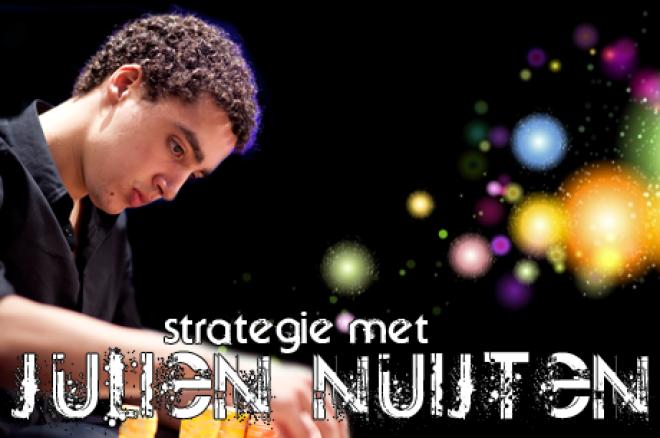 Strategie met Julien Nuijten - Overbet en een pair met een flushdraw
