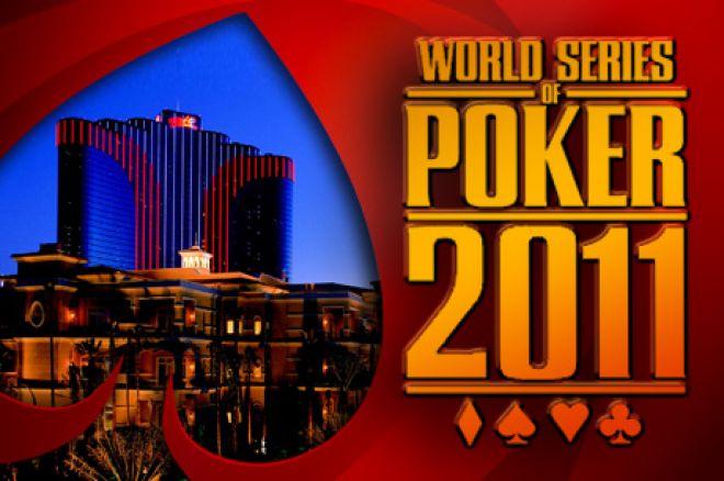 WSOP 2011 - Harald Olsen på finalebordet ved $1.000 NLH 0001