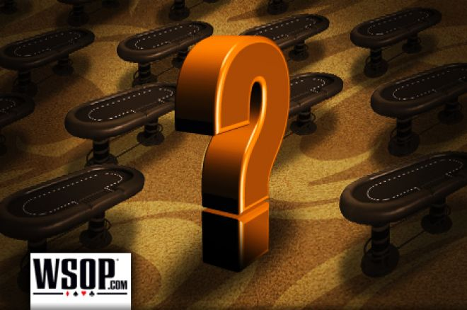 WSOP pokera konkurss