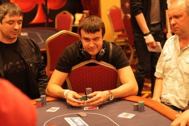 """Artūrs """"Mjasorubka"""" Jegorovs šodien spēlē Kijevas miniRPS Main Event 0001"""