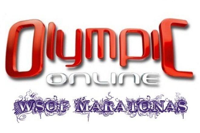 Olympic Online antrasis WSOP maratono žaidimas 0001