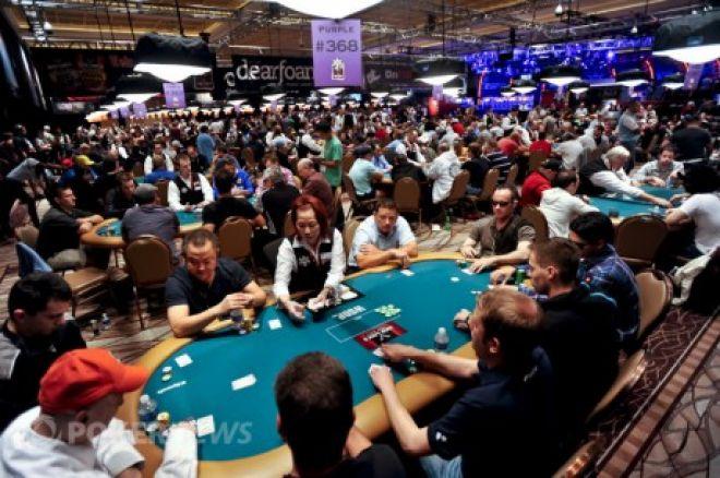 WSOP apžvalga: $10,000 beribio Holdem Čempionatas 2A diena 0001