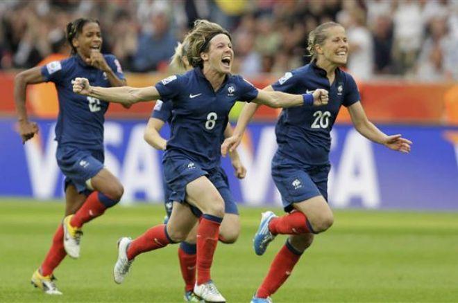 Football f minin la france en finale de la coupe du monde les cotes pokernews - Football feminin coupe du monde 2015 ...