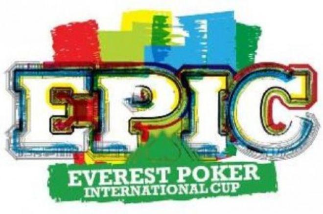 Everest Poker $125,000 vertės EPIC nemokamas turnyras 0001