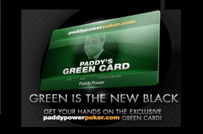 Zielona karta od Paddy Power Poker 0001