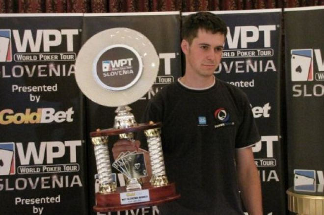 Miha Travnik odneo World Poker Tour Slovenia 0001