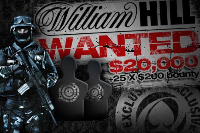 $25 000 William Hill розшукує наступного місяця 0001