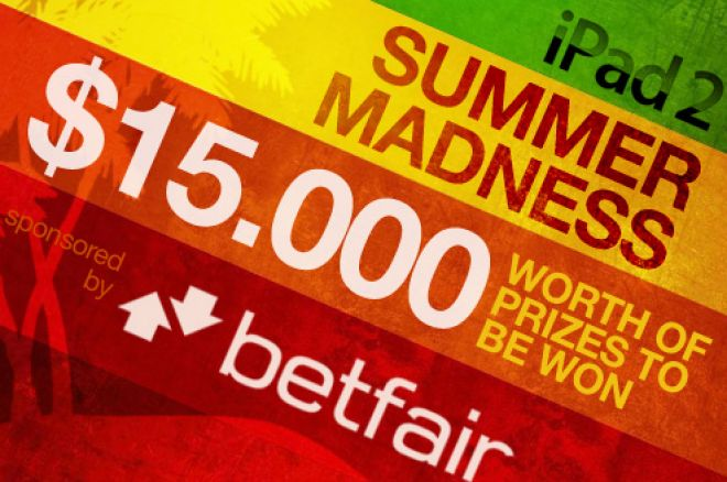 Exclusive iPad 2 Summer Madness on Betfair Poker 0001