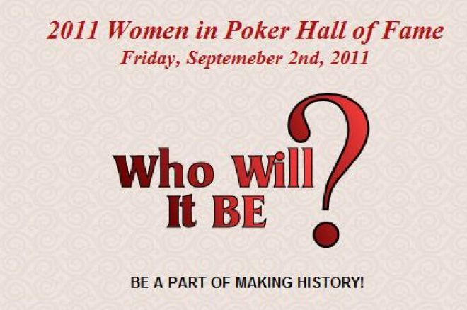 Mulheres no Poker Hall of Fame 2011 0001