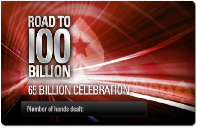 PokerStars mano 65 mil millones