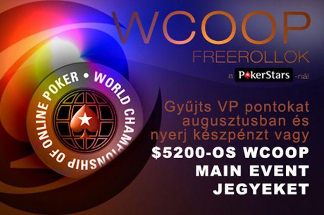 Exkluzív $22.500-os PokerNews WCOOP Freerollok 0001