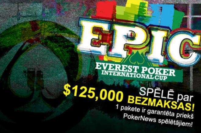 Kvalificējies uz $125,000 Everest Poker International Cup bezmaksas! 0001