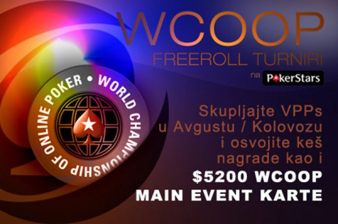Ekskluzivni $22,500 PokerNews WCOOP Freeroll Turniri 0001