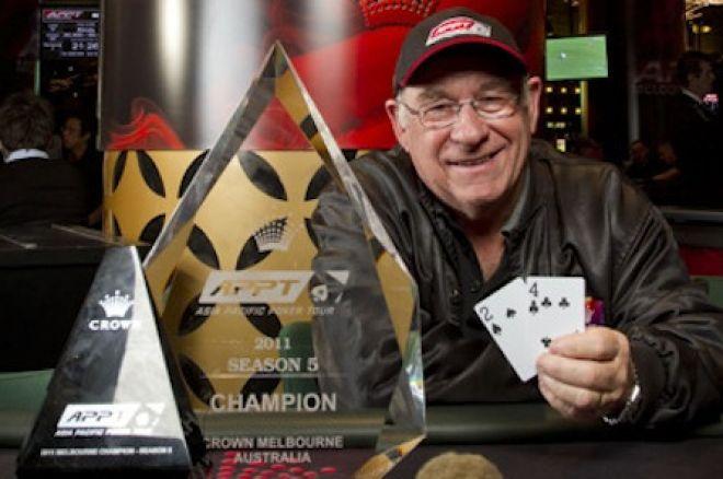 2011 PokerStars APPT Melbourne Dag 4: Leo Boxell vant! 0001