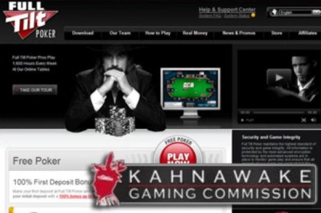 KGC може да поднови вторичния лиценз на Full Tilt Poker 0001