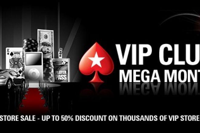 PokerStars VIP Мега місяць - 90% знижка на VIP-рівні 0001