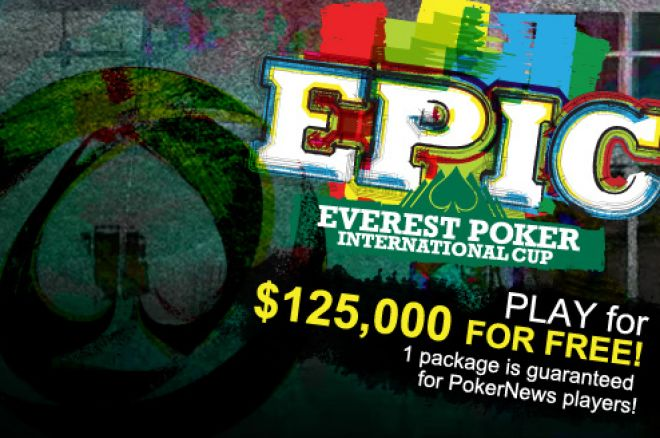 Everest Poker Launch Quick Seat, Still Time to Qualify for EPIC for Free 0001