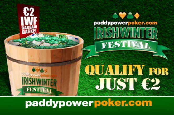 Darmowe zakłady oraz satelity na Irish Winter za €2 od Paddy Power Poker 0001