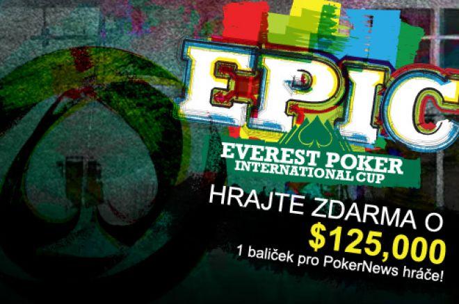 Dnes večer se hraje další turnaj z $125,000 EPIC Ligy 0001
