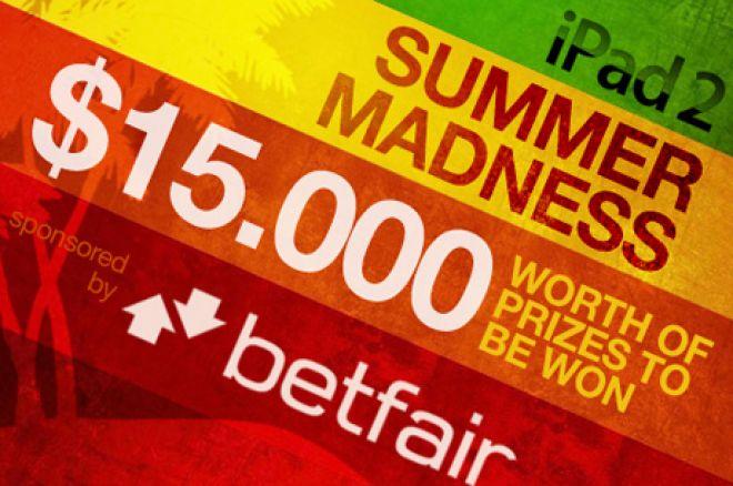 Arī mūsu Summer Madness akcijas kvalifikācija drīz beigsies! Laimē kādu no 15 iPad2... 0001