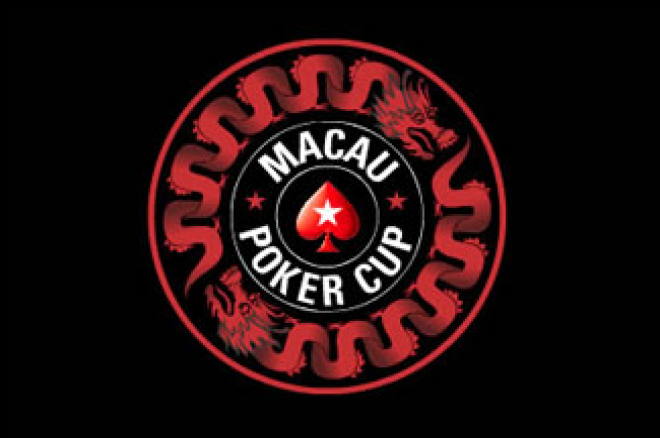 Macau Poker Cup. Day 1b 종료. 0001