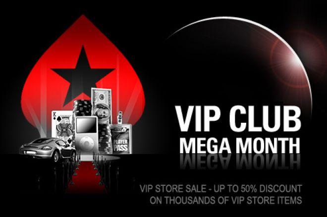 Kiirusta! PokerStarsi VIP Megakuu hakkab lõppema 0001
